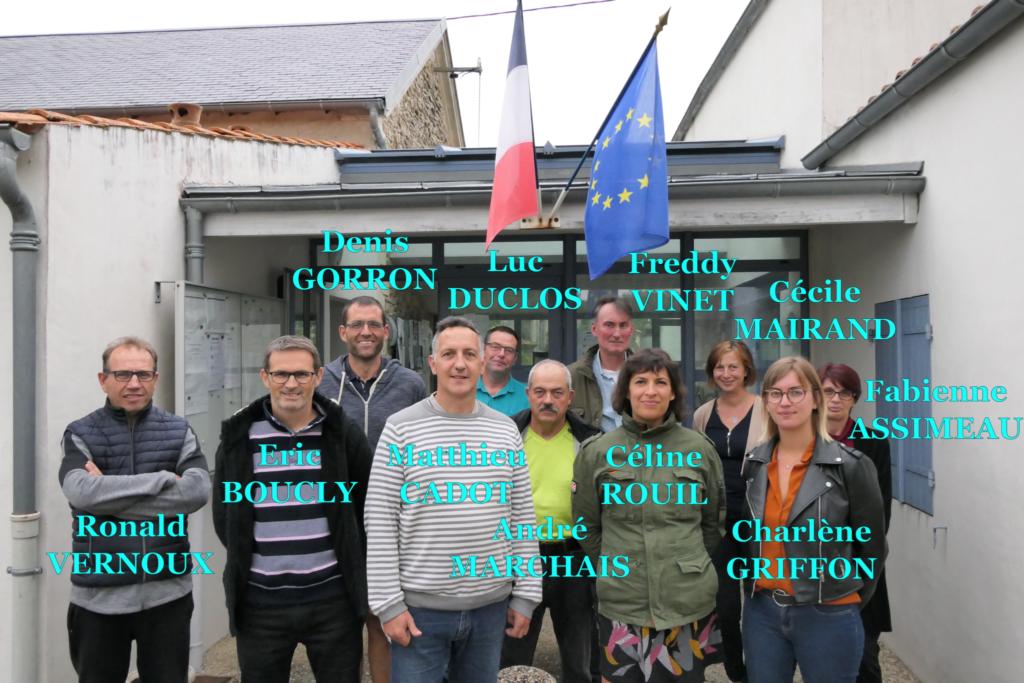 Conseil municipal de la mairie de Saint-Crépinn