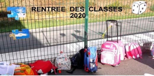 Rentrée des classes 2020